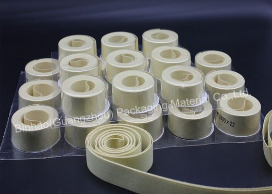 China Fiberglass Reinforced Kevlar Fabric Belt Tape 100 Pecent Aramid Long Life Service supplier