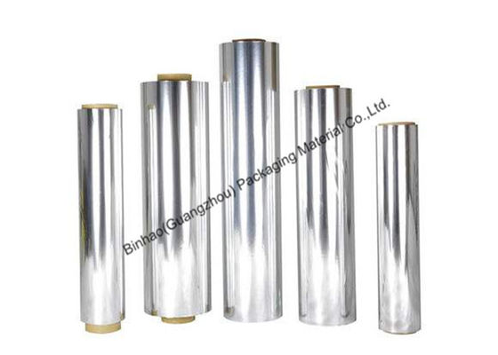 China Anti Wrinkle Aluminized Polyester Film Excellent Machinability Silver / Gold Color supplier