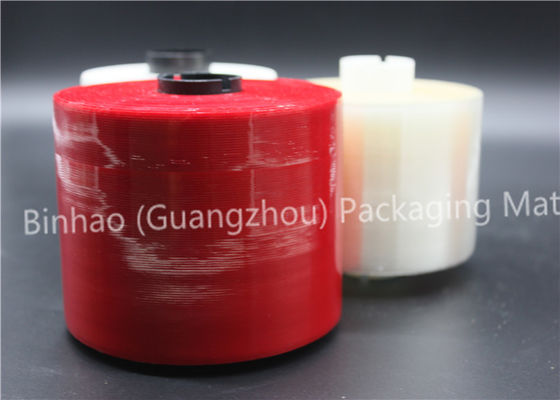 China Biaxially Oriented Polyester Tear Strip Tape , Gold Stamping Self Adhesive Tear Tape supplier