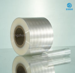 China Transparent Shrinkage Food Packaging BOPP Plastic Film For Tobacco Cigarette supplier