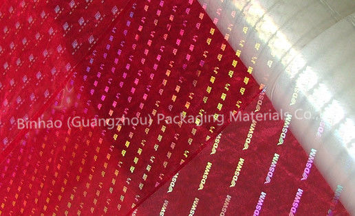 China Transparent Holographic BOPP Biaxially Oriented Polyester Film High Moisture Barrier factory