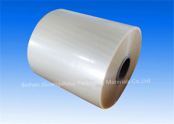 China Cigarette Transparent BOPP Thermal Lamination Film With Low Haze Inner Paper Core factory