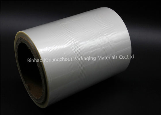 China Laminating Transparent BOPP Film Roll , Cigarette Sealing Tear Tape factory