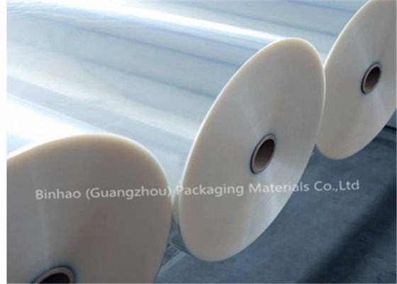Thermal Lamination Transparent BOPP Film For Food Packaging 2400m - 2800m Length