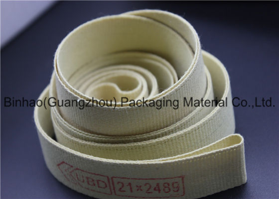 Heat Resistant Gamiture Tape , Different Specification Aramid Fiber Fabric Tape