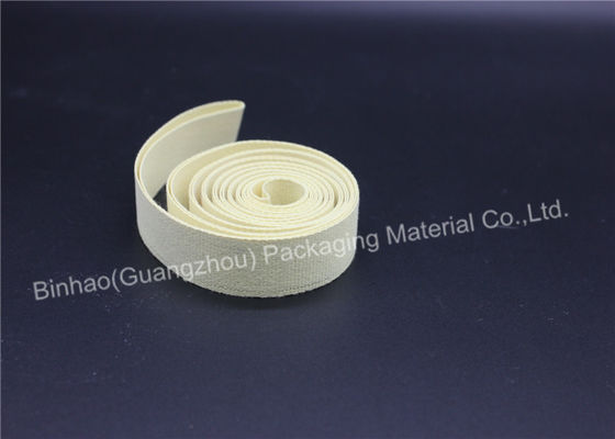 White Linen Garniture Cigarette / Tobacco Machine Tape Good Abradability