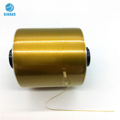 China Gold Red Food Medicine Sealing Cigarette Tear Tape 1000m Length factory