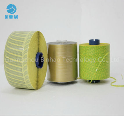 China BOPP MOPP PET Tear Strip Tape with Customized Size and Logo Printing factory